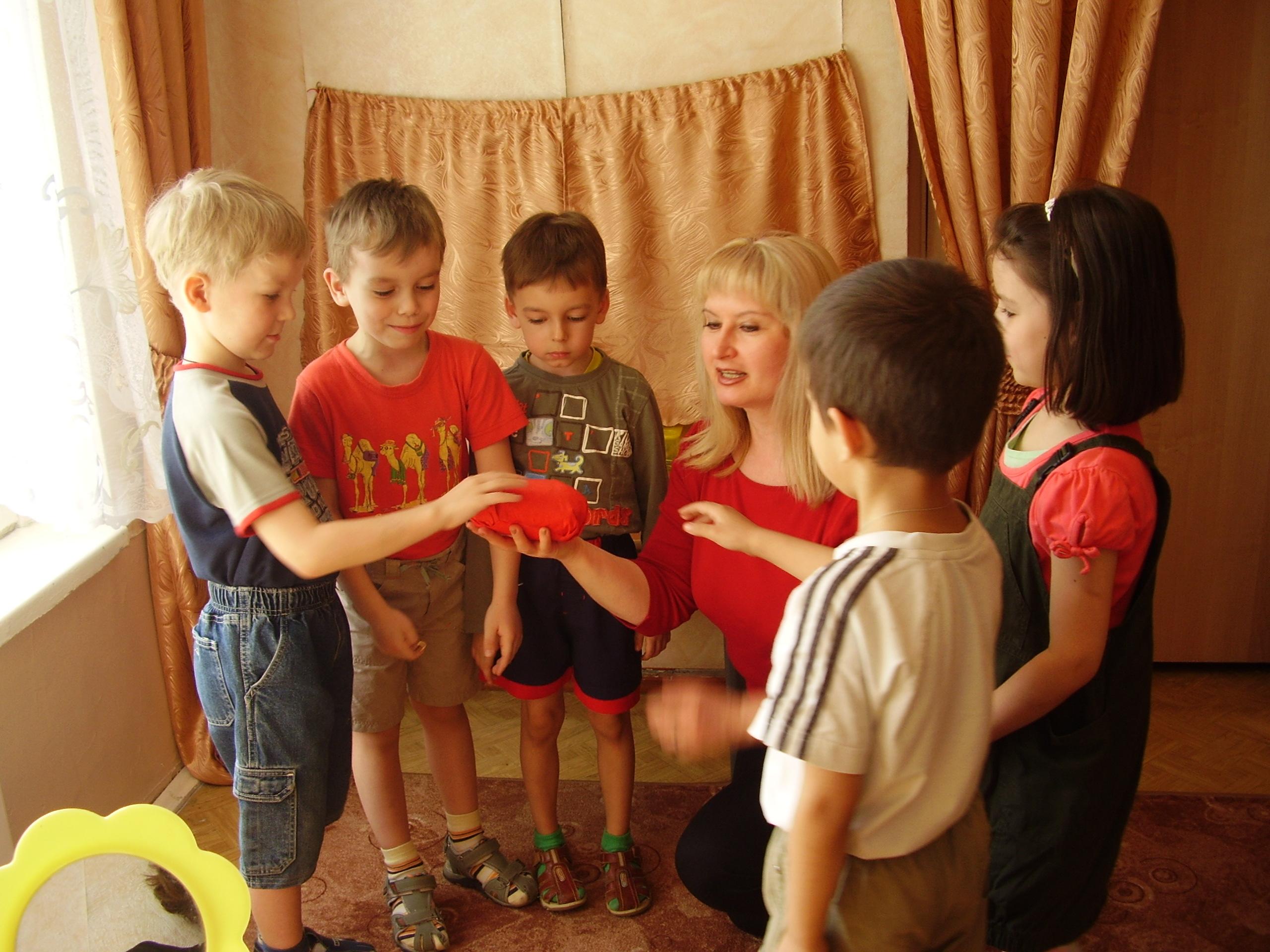 приемы знакомства воспитателя с детьми